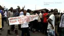 Protests Back On in Burundi Capital After Failed Coup