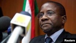Independent Expert for Human Rights, Professor Mashood Adebayo Baderin of Nigeria in Khartoum, Sudan, June 14, 2012.