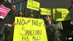 Alcaldes de diferentes ciudades del país anunciaron que no participarían de la reunión con el presidente Trump en la Casa Blanca en respuesta a la orden emitida por el Departamento de Justicia contra las ciudades santuario.