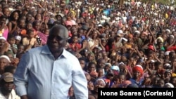 Moçambique – Eleições 2014 - Afonso Dhlakama (Moma, provincia de Nampula)