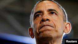 美国总统奥巴马4月3日在科罗拉多州