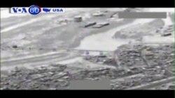 Máy bay liên quân do Mỹ dẫn đầu không kích IS (VOA60)