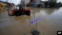 Poplave u Obrenovcu