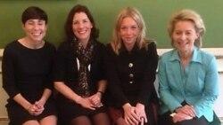 유럽 여성 국방장관들 화제