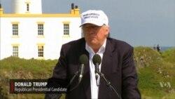 Trump Reacts to Britain's Vote to Leave EU