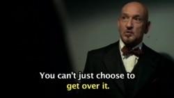 'Get over it' ...영화 '셔터 아일랜드' 중에서