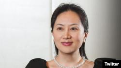 华为副董事长兼首席财务官孟晚舟(华为官方推特账号)