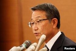 Presiden dan Chief Executive Officer (CEO) Mitsui O.S.K. Lines (MOL), Junichiro Ikeda.