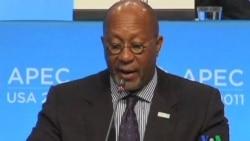 2011-11-12 粵語新聞: APEC領導人將努力建立自由貿易集團