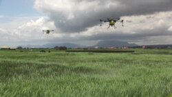 Les drones pour moderniser l'agriculture guinéenne