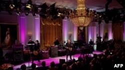 Paul McCartney trình diễn tại Tòa Bạch Ốc trong ngày nhận giải thưởng Gershwin