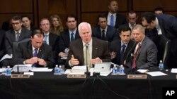 Panel Senat AS mulai perdebatan mengenai reformasi UU Imigrasi Amerika, Kamis (9/5).