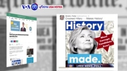 "VOA60 Elections 07-04-Donald Trump posted a tweet featuring Hillary Clinton and the words ""most corrupt candidate ever"""
