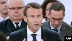 Le président français Emmanuel Macron à Paris, le 29 mai 2018.