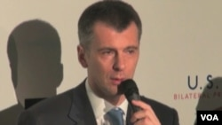 Mikhail Prokhorov, le propriétaire du groupe de médias RBK.