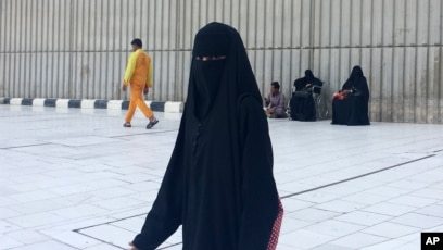 Some Saudi Women Wear Abayas Inside Out In Protest