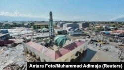 وضعیت شهر «پالو» اندونزی بعد از سیل و سونامی اخیر.