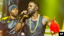 FILE - Jason Derulo performs at an exclusive album release party.