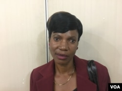 Maliyaziwa Malunga says her health deteriorated because of the stress she went through after losing her husband in 2013. She says some relatives of her husband physically assaulted her, Harare, Zimbabwe, Jan. 24, 2017. (S. Mhofu/VOA)