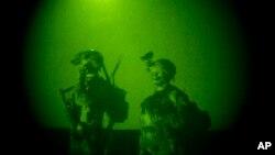 په افغانستان کې د تیرو دریو کالو راهیسې اکثره د شپې عملیات د افغان ځانګړو ځواکونو له خوا ترسره کیږي.
