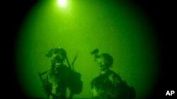 В приборе ночного видения американский спецназ на выполнении задания в Афганистане (архивное фото)