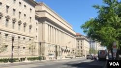 位於華盛頓的美國商務部總部大樓