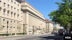 位於華盛頓的美國商務部總部大樓。