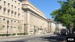 位于华盛顿的美国商务部总部大楼