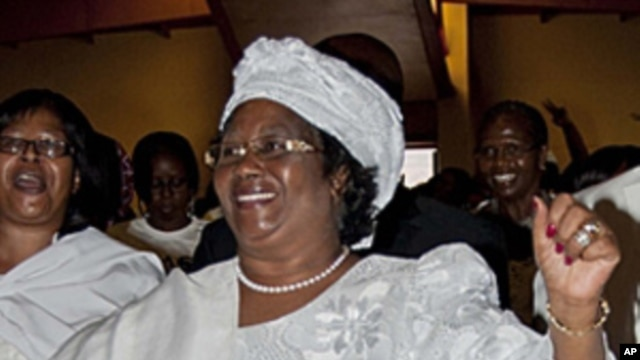 Malawian President Joyce Banda (file photo).
