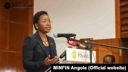 Ministra das Finanças Vera Daves