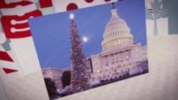 美国首都华盛顿迎接圣诞节