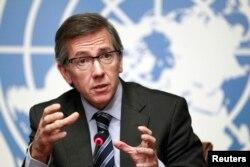 Ông Bernardino Leon - đặc sứ của Tổng thư ký LHQ đặc trách về Libya.
