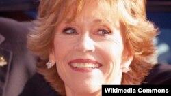 Nữ diễn viên Jane Fonda.