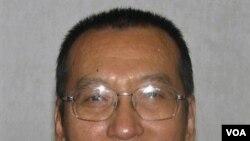 Pemenang Nobel Perdamaian 2010 Liu Xiaobo tidak hadir karena menjalani hukuman 11 tahun penjara di Tiongkok.