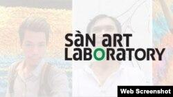 Ảnh chụp màn hình trang web san-art.org.