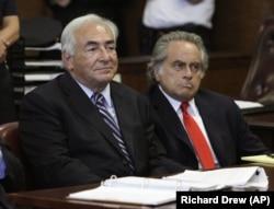 Ben Brafman, eski IMF Başkanı Dominique Strauss-Kahn'ı savunurken