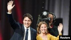 Justin û Sophie Gregoire Trudeau