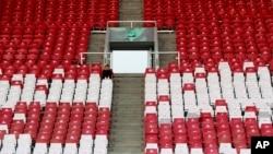 Kursi kosong di Asian Games 2018 menjadi sorotan.