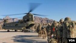 امریکی صدر نے 11 ستمبر تک افغانستان سے فوجیوں کے مکمل انخلا کا اعلان کیا ہے۔