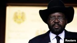 南蘇丹總統基爾 (資料照片)