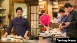 2015년 인기 아이템이었던 요리 방송, 일명 '쿡방' 프로그램 한 장면.