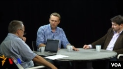 Михаил Соколов, Алексей Навальный и Данила Гальперович