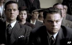 "Leonardo DiCaprio and Armie Hammer in ""J. Edgar"""