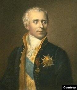 Chân dung Bá tước Laplace thời Napoleon. (Tranh sơn dầu James Posselwhite)