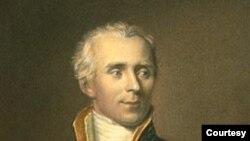Portrait du comte Laplace de Napoléon. (Peinture à l'huile James Posselwhite)