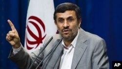 انفجار در تفحصات نفت آبادان، به احمدی نژاد آسیبی نرسید
