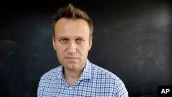 러시아의 핵심 야권 지도자인 알렉세이 나발니가 지난해 9월 AP통신과 인터뷰하고 있다.