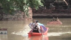 Thailand Flooding Threatens World Heritage Site