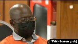 Cipriano Mutota, ex-oficial do SISE (imagem de tela de TV)