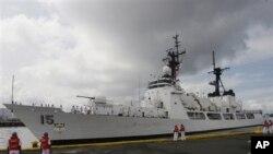 """美國2011年向菲律賓增送的""""德爾畢拉號""""(資料圖片)"""